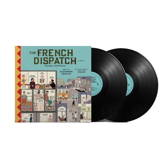 Various Artists: The French Dispatch OST: Limited Edition Vinyl 2LP