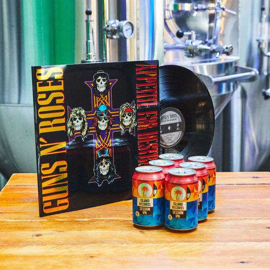 Guns N' Roses: Appetite for Destruction + Island Records Session IPA 6 pack