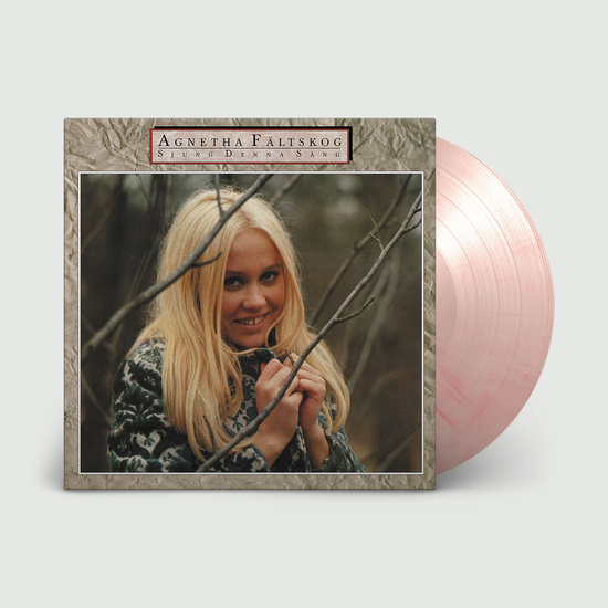 Agnetha Faltskog: Sjung Denna Sang: Limited Edition Pink Marbled Vinyl