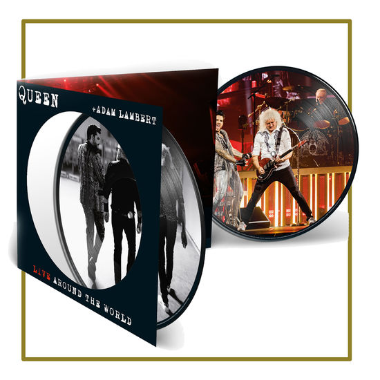 Queen & Adam Lambert: Live Around The World Picture Disc