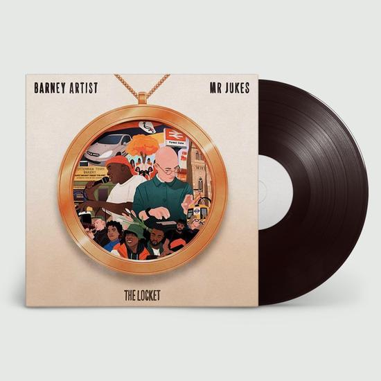 Mr Jukes and Barney Artist: The Locket: LP