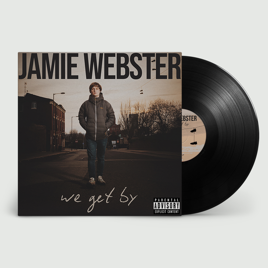 Jamie Webster: We Get By: Black Vinyl LP