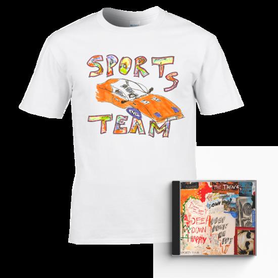Sports Team: Deep Down Happy: CD + Tee