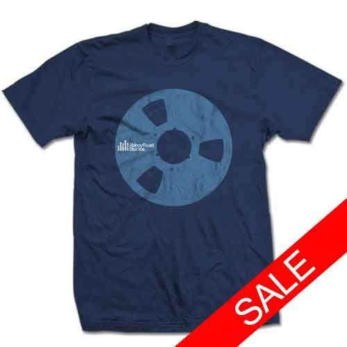 Abbey Road Studios: Abbey Road Reel Blue Mens T-Shirt