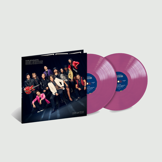 Paul Stanley's Soul Station: Now And Then: Exclusive Opaque Violet Vinyl