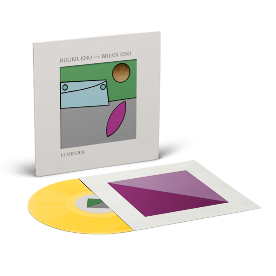 Roger Eno & Brian Eno: Luminous: Limited Edition Yellow Vinyl