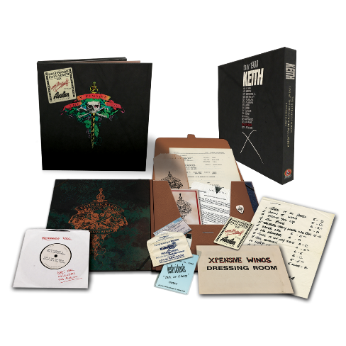 Keith Richards and the X-Pensive Winos: Live At The Hollywood Palladium: Deluxe Box Set