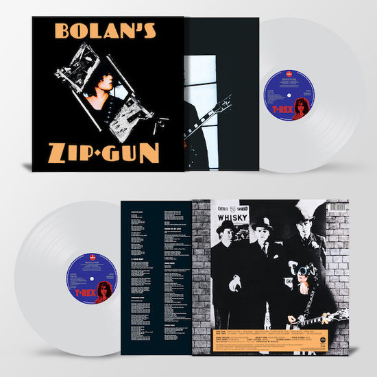T. Rex: Bolan's Zip Gun: Limited Edition Clear Vinyl