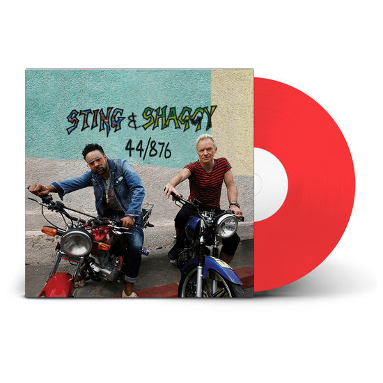 Sting And Shaggy: 44/876(Red Vinyl)