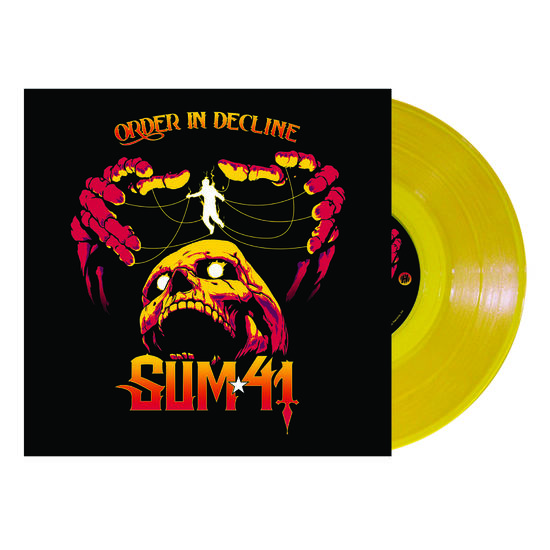 Sum 41: Order In Decline: Limited Edition Yellow Vinyl