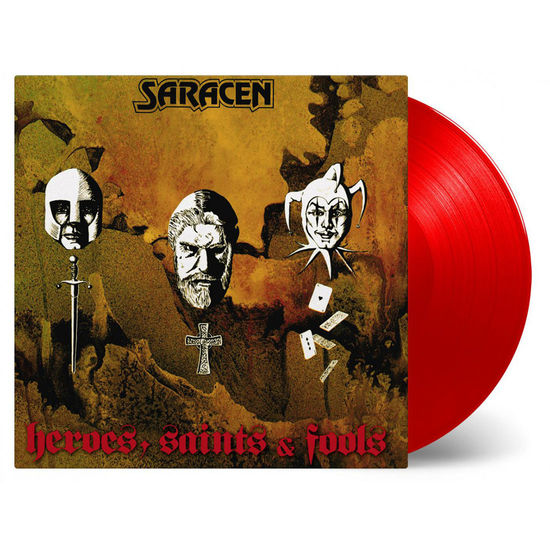 Saracen: Heroes, Saints and Fools: Red Vinyl LP