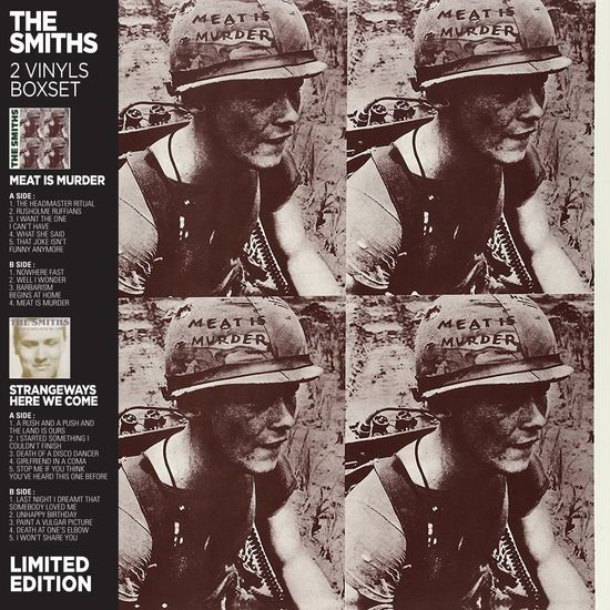 The Smiths: Meat Is Murder / Strangeways Here We Come: Limited Edition Box Set