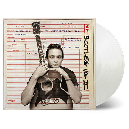 Johnny Cash: Bootleg Volume 2 From Memphis To Hollywood: Limited Edition Transparent Vinyl