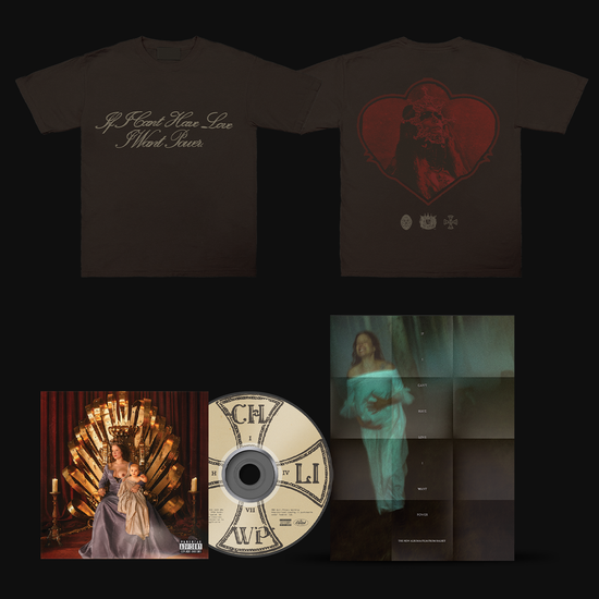 Halsey: Limited Edition Heart Crest T-Shirt, FILM POSTER & CD