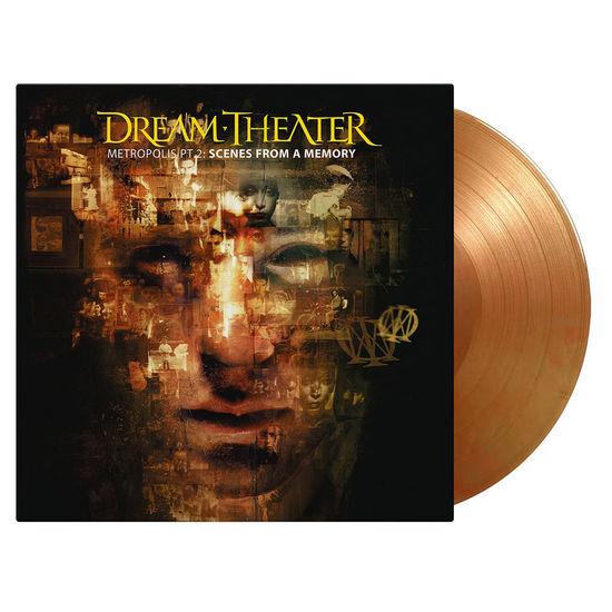 Dream Theater: Metropolis Part 2 Scenes From A Memory: Orange & Gold Vinyl