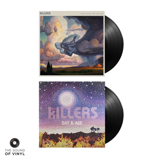 The Killers: Imploding The Mirage + Day & Age Vinyl Bundle