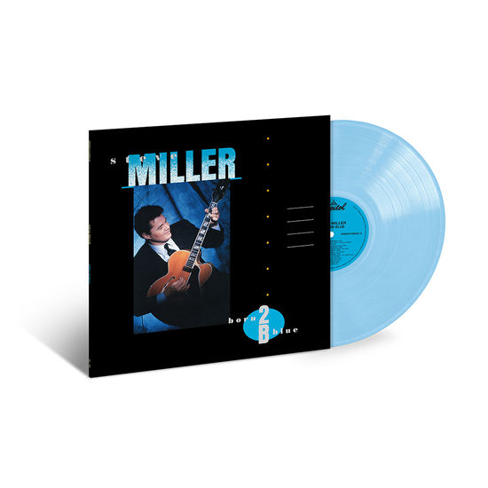 Steve Miller Band: Born 2 B Blue: Exclusive Opaque Baby Blue Vinyl