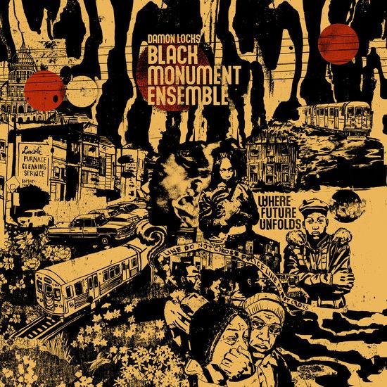 Damon Locks: Black Monument Ensemble: Black Vinyl LP