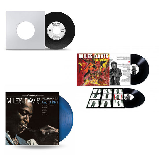 Miles Davis: The Sound Of Miles Davis: Rubberband, Paradise & Kind Of Blue Limited Edition Vinyl Bundle