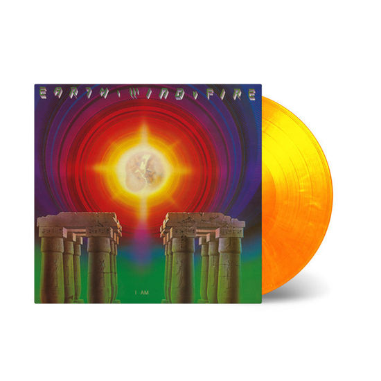 Earth, Wind & Fire: I Am: Flaming Yellow and Orange Coloured Vinyl LP