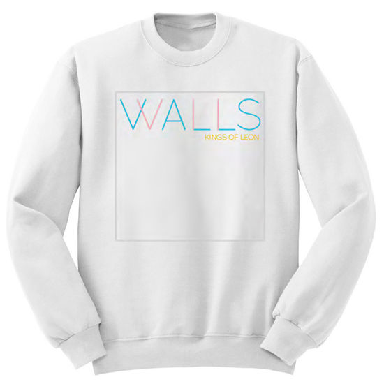 Kings Of Leon: White Walls Art LS Fleece