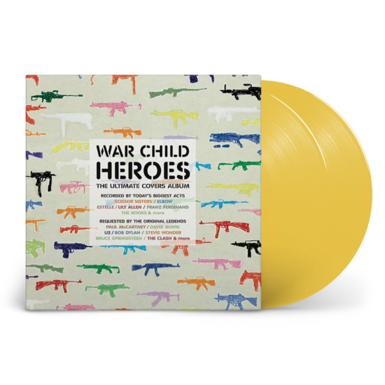 Various Artists: War Child Presents Heroes: Limited Edition Yellow Vinyl 2LP