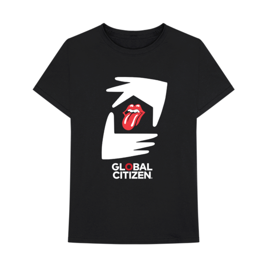 The Rolling Stones: The Rolling Stones x Global Citizen T-shirt
