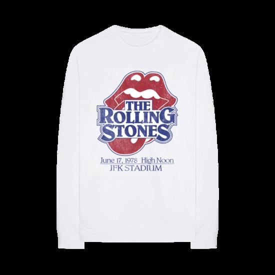 The Rolling Stones: Vintage JFK Stadium Crewneck