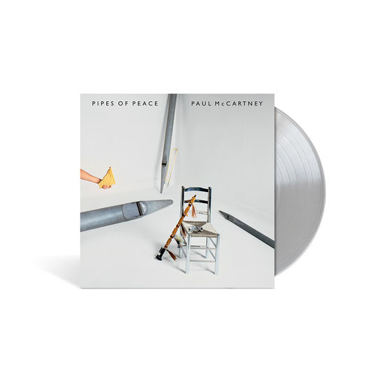 Paul McCartney: Pipes of Peace Limited Edition Silver Vinyl