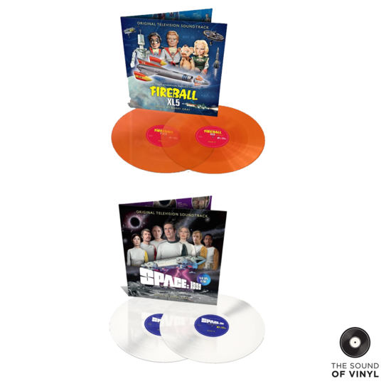 Original Soundtrack: The Sound Of Barry Gray Colour Vinyl Bundle