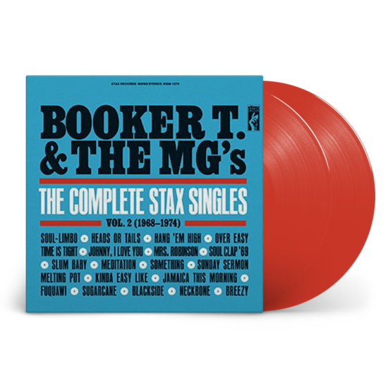 Booker T & The MG's: The Complete Stax Singles Vol. 2 (1968-1974): Limited Edition Red Vinyl 2LP