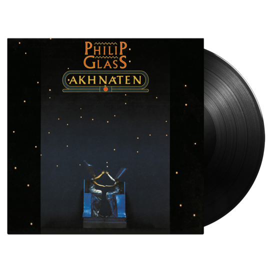 Philip Glass: Akhnaten: Deluxe Edition Triple Vinyl Box Set