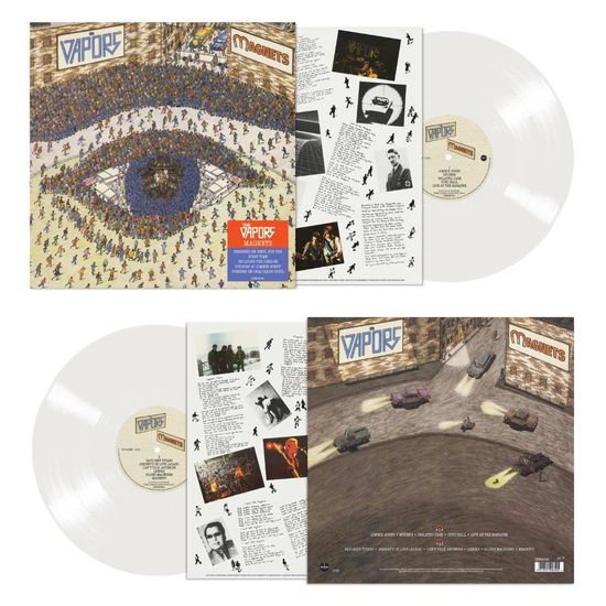 The Vapors: Magnets: Limited Edition 180g Clear Vinyl