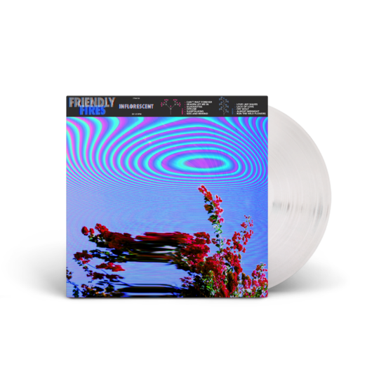 Friendly Fires: Inflorescent Lenticular 180g Clear Vinyl