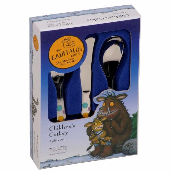 The Gruffalo: The Gruffalo 3 Piece Cutlery Set