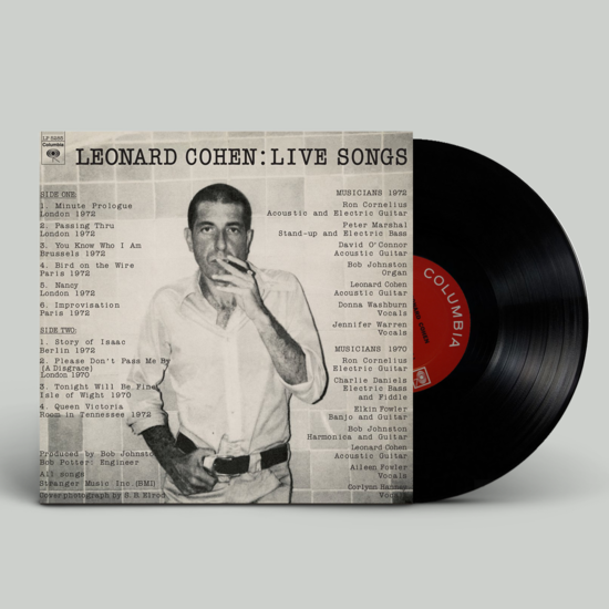 Leonard Cohen: Leonard Cohen: Live Songs