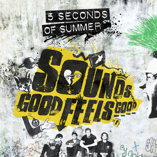 5 Seconds of Summer: Sounds Good Feels Good Standard CD