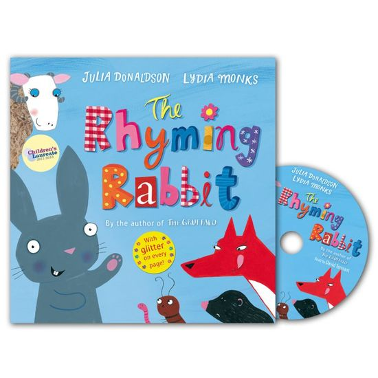 Julia Donaldson: The Rhyming Rabbit (Paperback and CD)