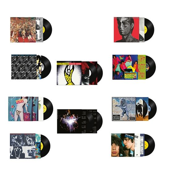 The Rolling Stones: Half-Speed Master 10 Album Bundle