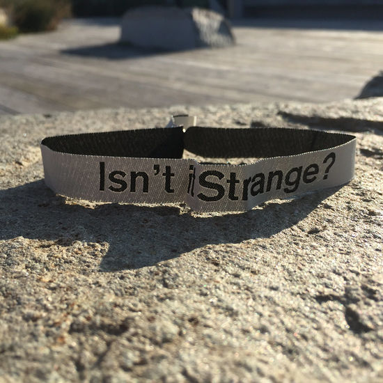Lauren Aquilina: Isn't it Strange? Wristband