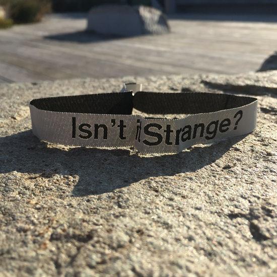 Lauren Aquilina: Isn't it Strange? Wristband