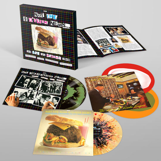 Not The 9 O'Clock News: Not All The Albums Again – 40th Anniversary: Colour Vinyl Box Set