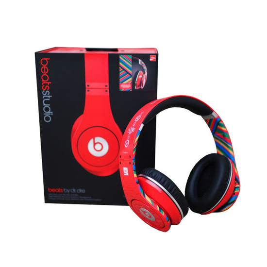 Beats: Studio Over Ear Headphone - Coke Red