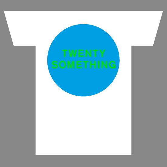 Pet Shop Boys: TWENTY SOMETHING T-Shirt - Medium