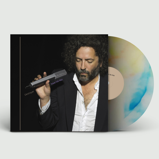 Destroyer: Have We Met: Limited Edition Natural Vinyl with Blue + Yellow Swirl