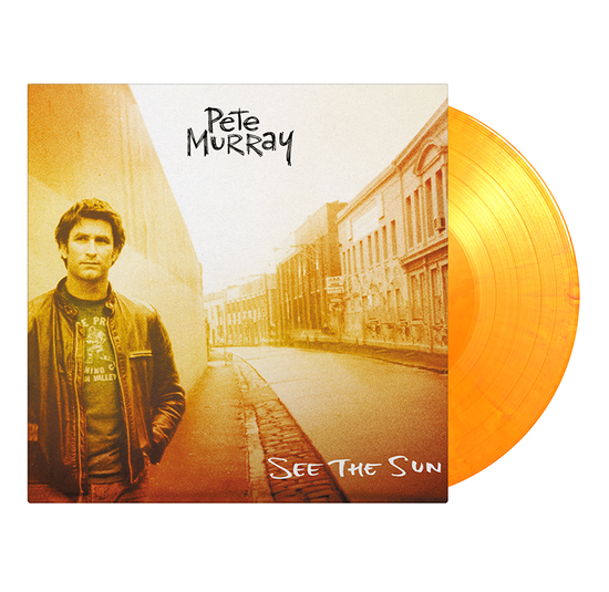 Pete Murray: See The Sun: Limited Edition Sun Coloured Vinyl + Signed Art Card