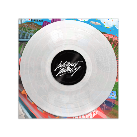 Internet Money: B4 The Storm: Gatefold Clear Vinyl