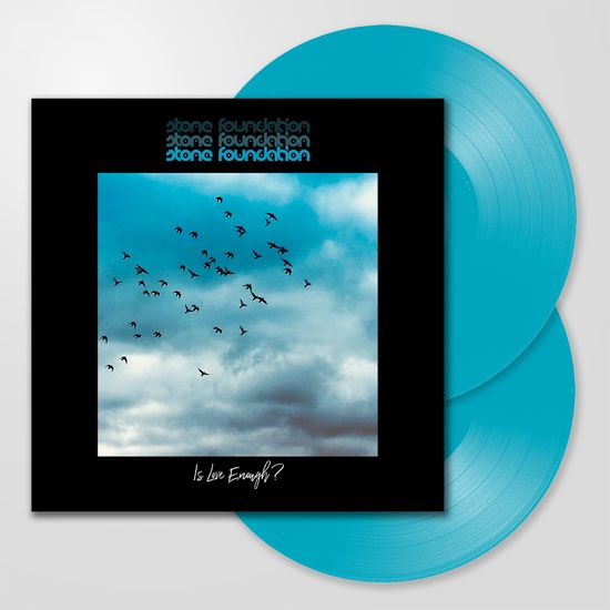 Stone Foundation: Is Love Enough?: Double Blue Vinyl