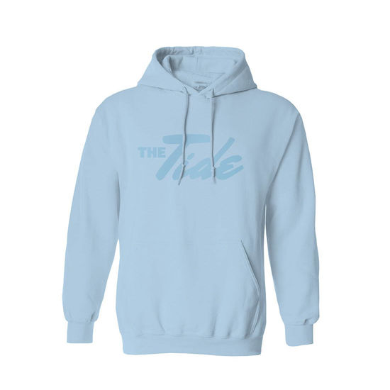 The Tide: The Tide Pastel Blue Hoodie