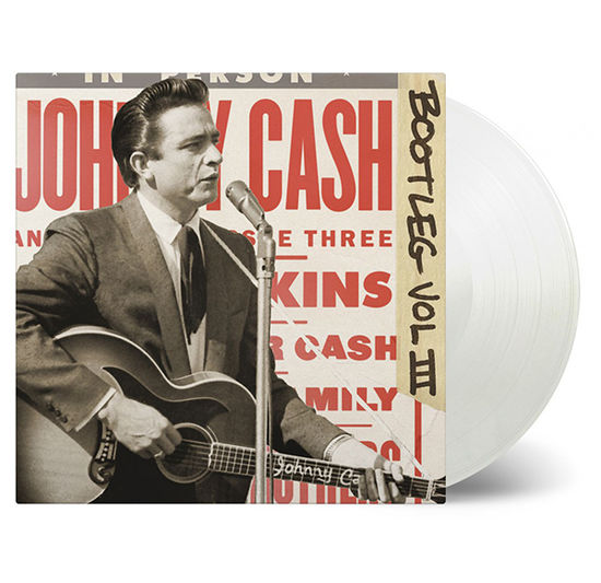 Johnny Cash: Bootleg Volume 3: Live Around The World: Limited Edition Transparent Vinyl